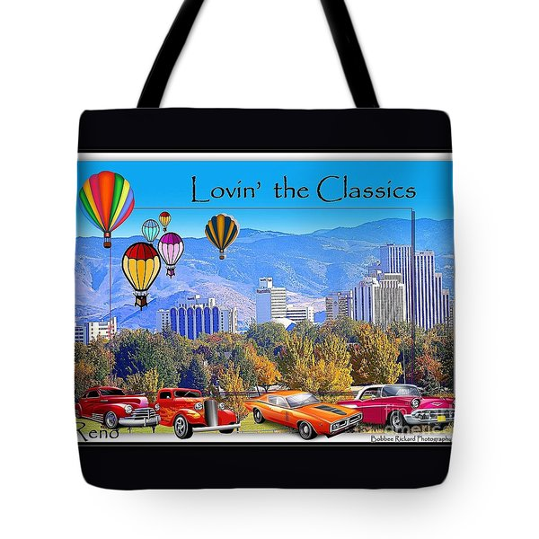 Lovin The Classics Tote Bag
