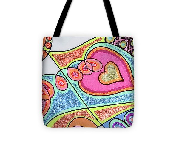 Loving Heart Connection Tote Bag by Sheree Kennedy