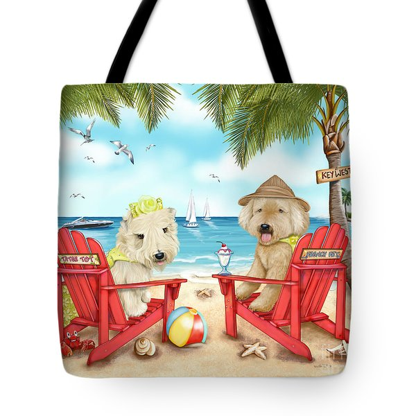 Loving Key West Tote Bag