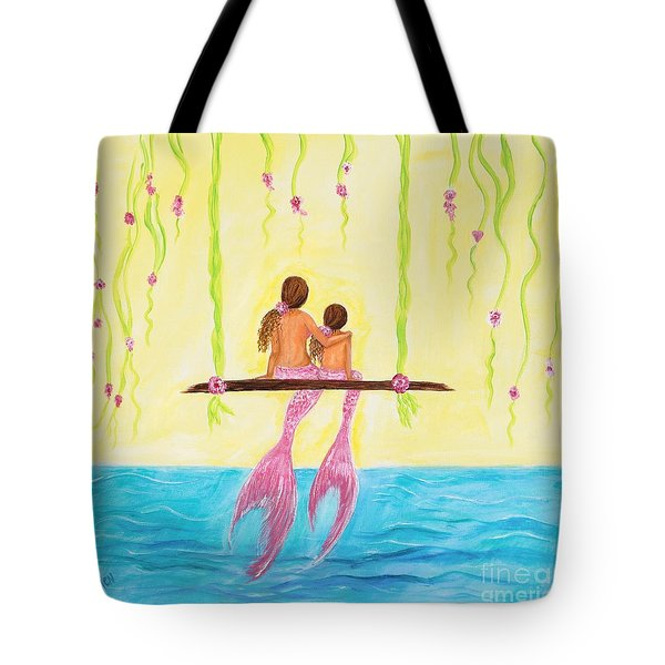 Loving Sunshine Tote Bag by Leslie Allen