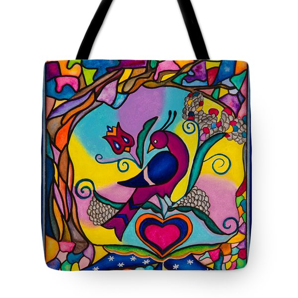 Loving The World Tote Bag