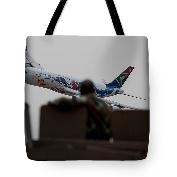 Low Airbus Tote Bag