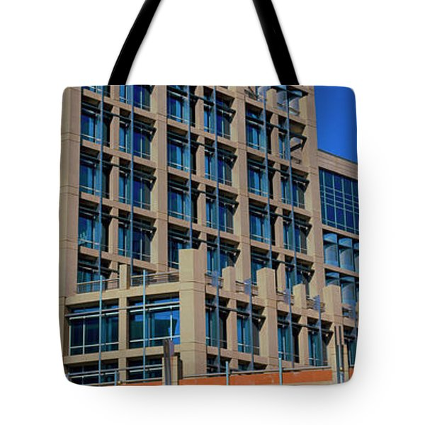 Low Angle View Of A Building, Phoenix Tote Bag