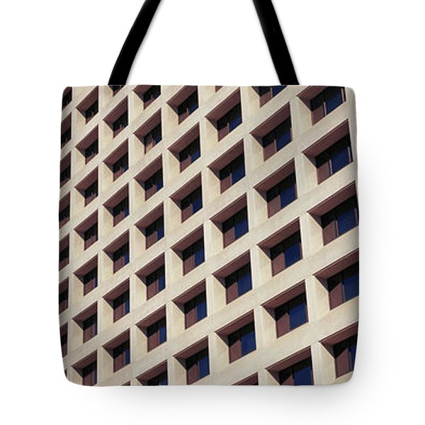 Low Angle View Of Buildings, Phoenix Tote Bag