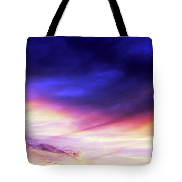 Low Angle View Of Sky At Sunset, Cape Tote Bag