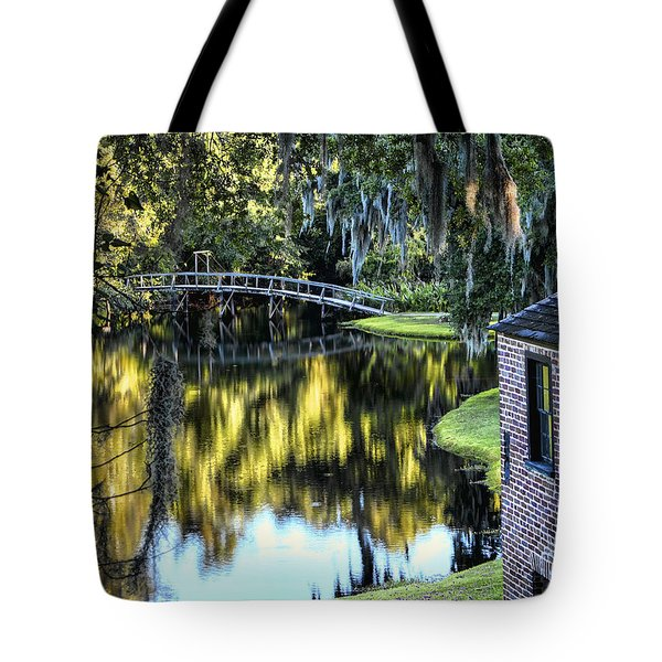 Tote Bag featuring the photograph Low Country Impressions by Jim Hill