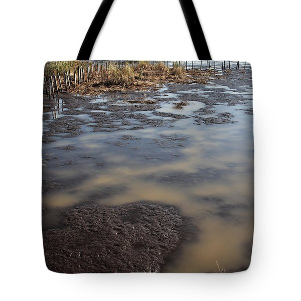 Low Tide At Blackwater Wildlife Refuge In Maryland Tote Bag