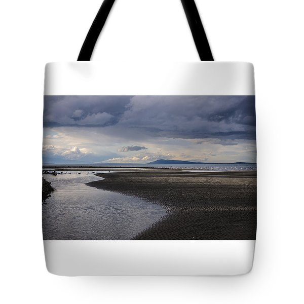 Tidal Design Tote Bag
