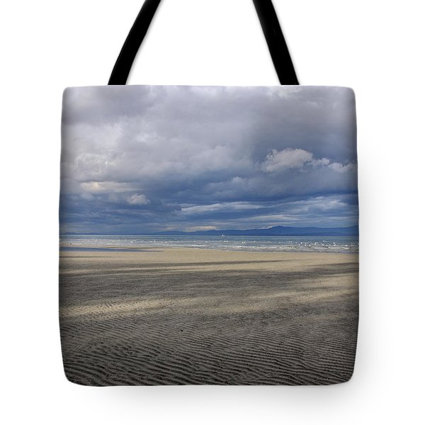 Low Tide Sandscape Tote Bag