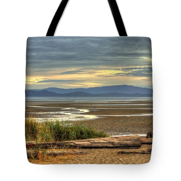 Low Tide Tote Bag by Randy Hall