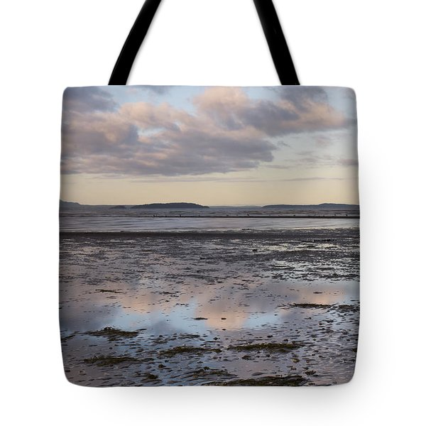 Low Tide Reflections Tote Bag by Priya Ghose