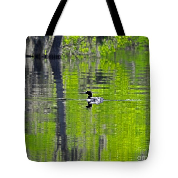 Lowcountry Loon Tote Bag