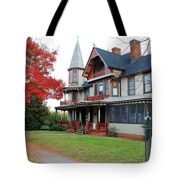 Lowenstein-henkel House Tote Bag by Cynthia Guinn