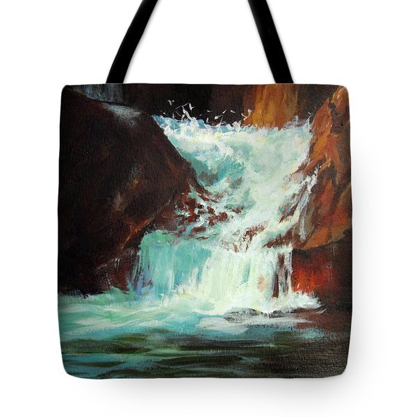 Lower Chasm Falls Tote Bag