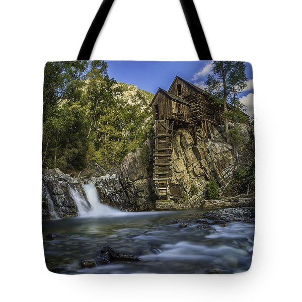 Lower Crystal Mill  Tote Bag