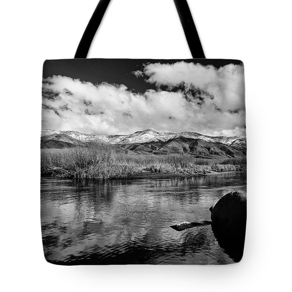 Lower Owens River Tote Bag