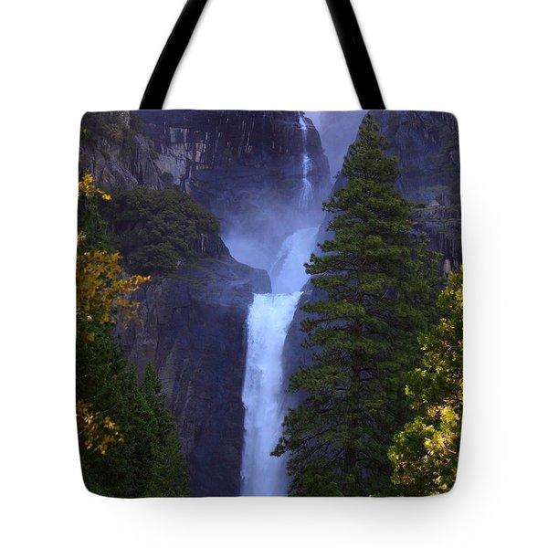 Lower Yosemite Falls Tote Bag