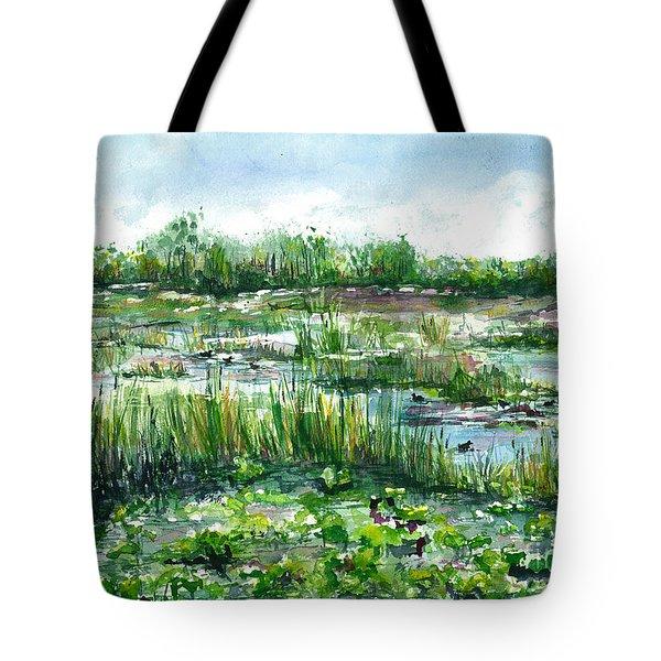 Loxahatchee Marsh Tote Bag