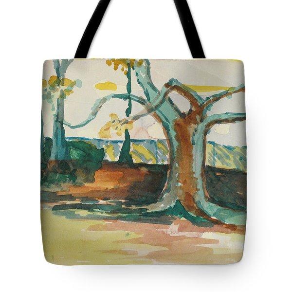 Lsu Oaks Cypress Knees Tote Bag