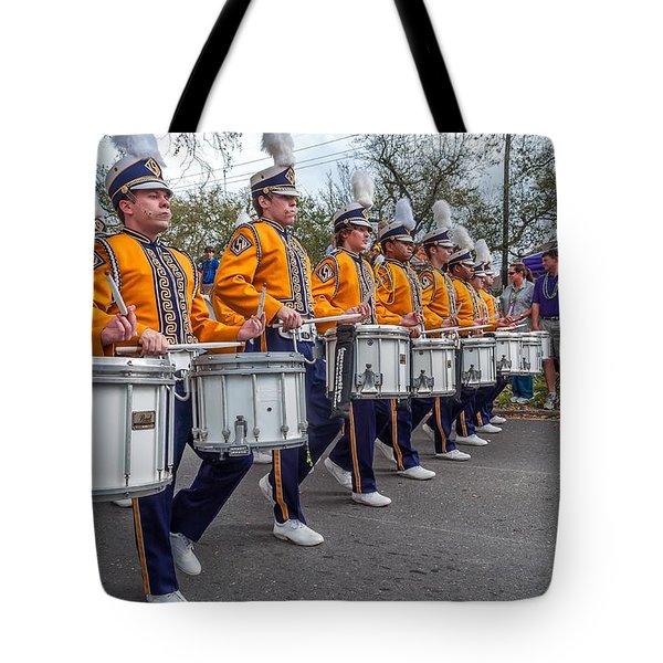 Lsu Tigers Band 4 Tote Bag by Steve Harrington