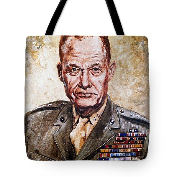 Lt Gen Lewis Puller Tote Bag