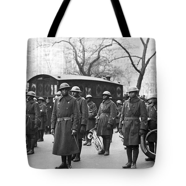Lt. James Reese Europe's Band Tote Bag by Underwood Archives