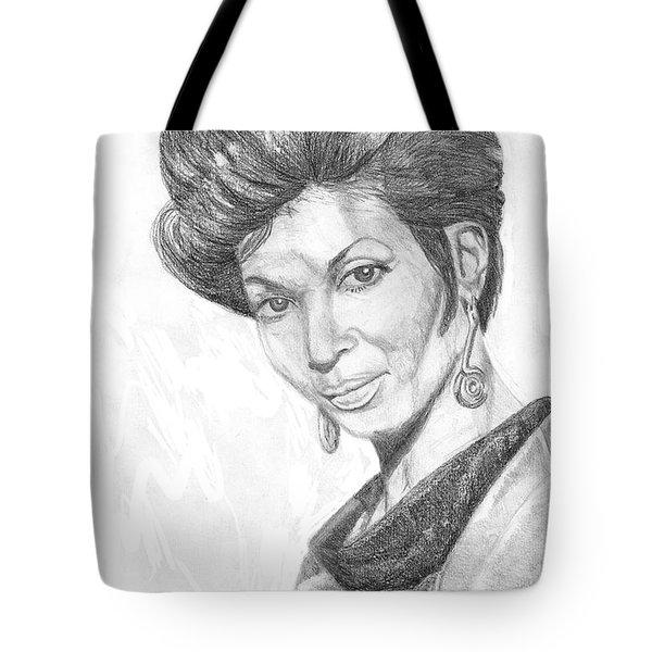Lt. Uhura Tote Bag