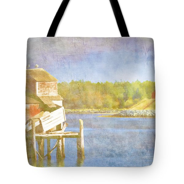 Lubec Maine To Campobello Island Tote Bag