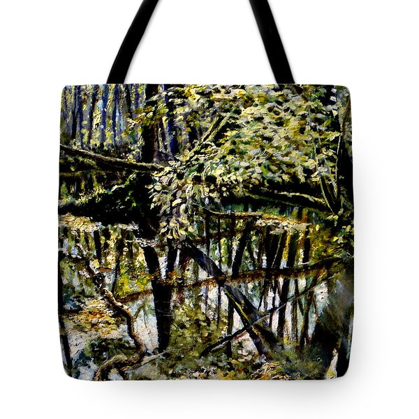 Lubianka-4 Mystery Of Swamp Forest Tote Bag