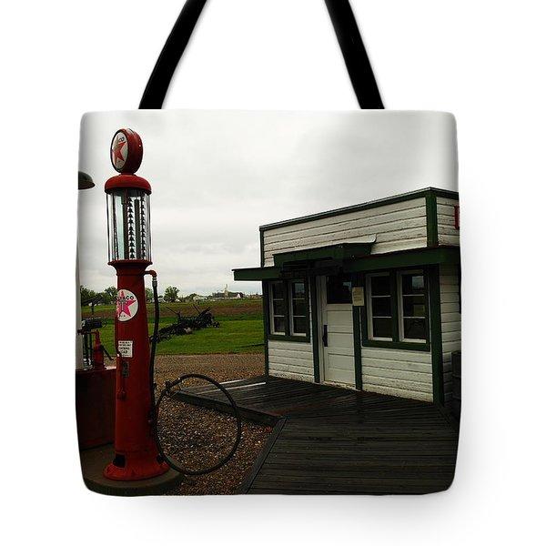 Lubrication Center Hardin Montana Tote Bag by Jeff Swan
