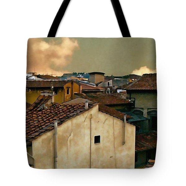 Lucca At Dusk Tote Bag