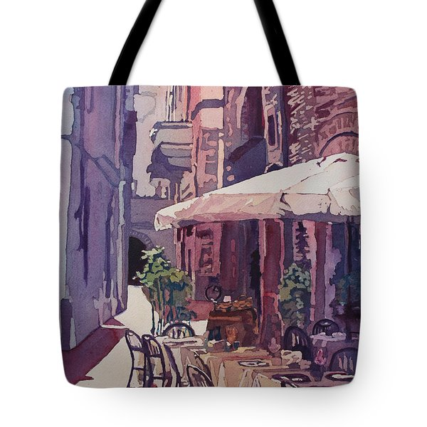 Lucca Cafe Tote Bag