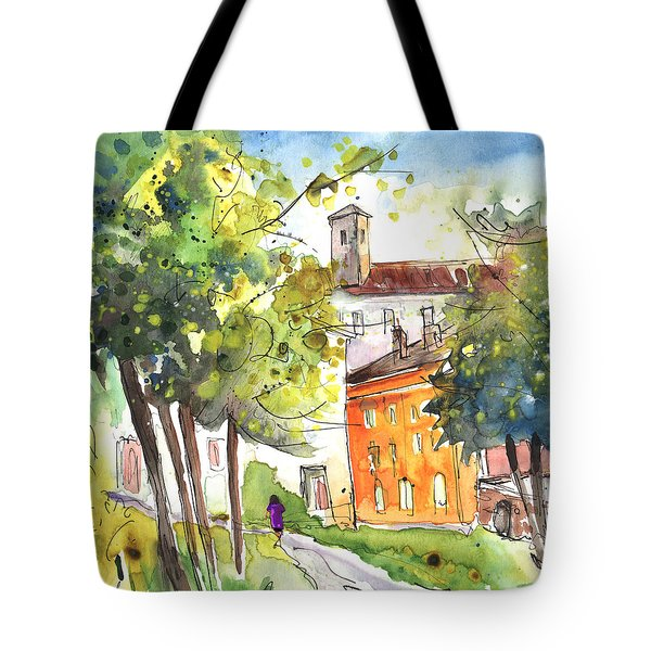 Lucca In Italy 02 Tote Bag by Miki De Goodaboom