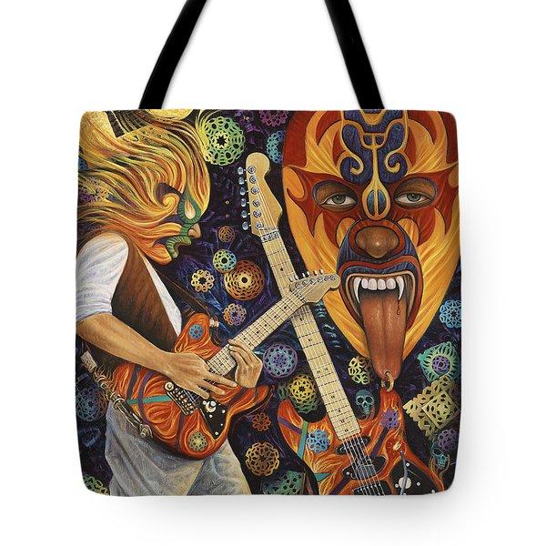Lucha Rock Tote Bag