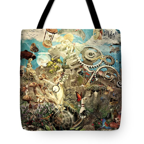 Lucid Dreaming Tote Bag by Ally  White