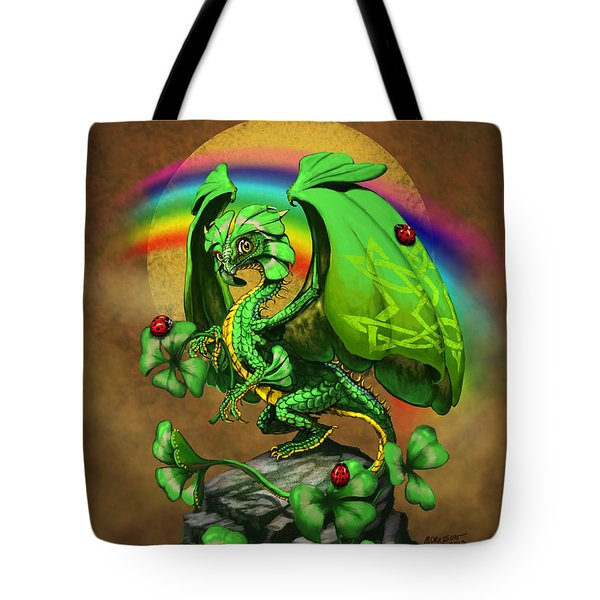 Luck Dragon Tote Bag