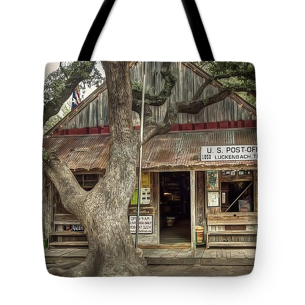 Luckenbach 2 Tote Bag by Scott Norris