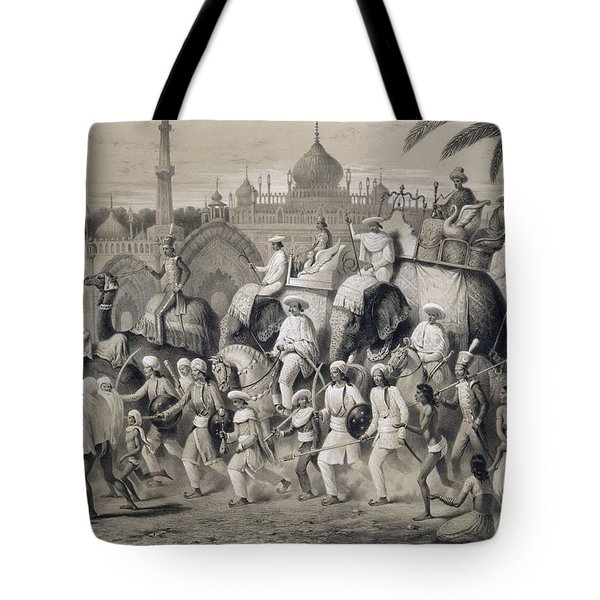 Lucknow, The Principal Street Tote Bag by A Soltykoff
