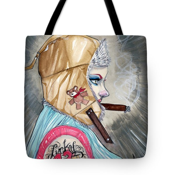 Lucky Bullet 13 Tote Bag