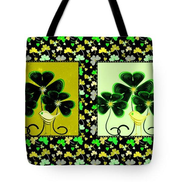 Lucky Irish Yellow Warblers Tote Bag