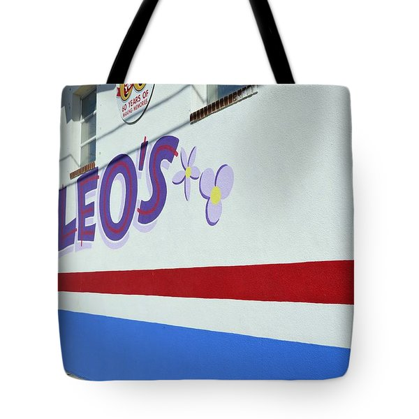 Lucky Leo's Tote Bag by Allen Beatty