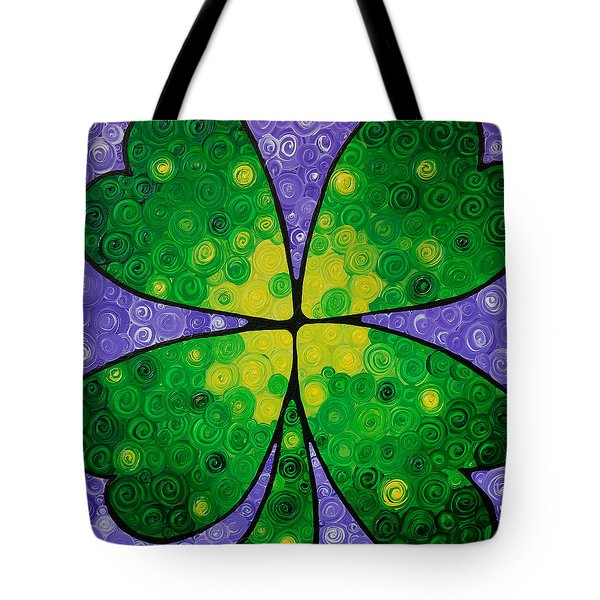 Lucky One Tote Bag by Sharon Cummings