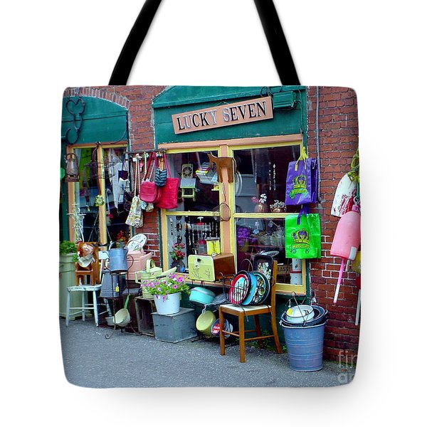 Lucky Seven Tote Bag by Kevin Fortier