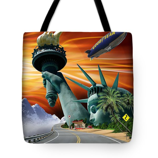 Lucky Star Tote Bag by Scott Ross