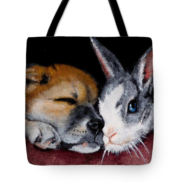 Lucy And Oliver Tote Bag