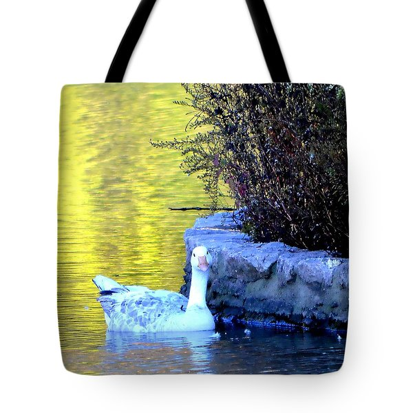 Tote Bag featuring the photograph Lucy by Deena Stoddard