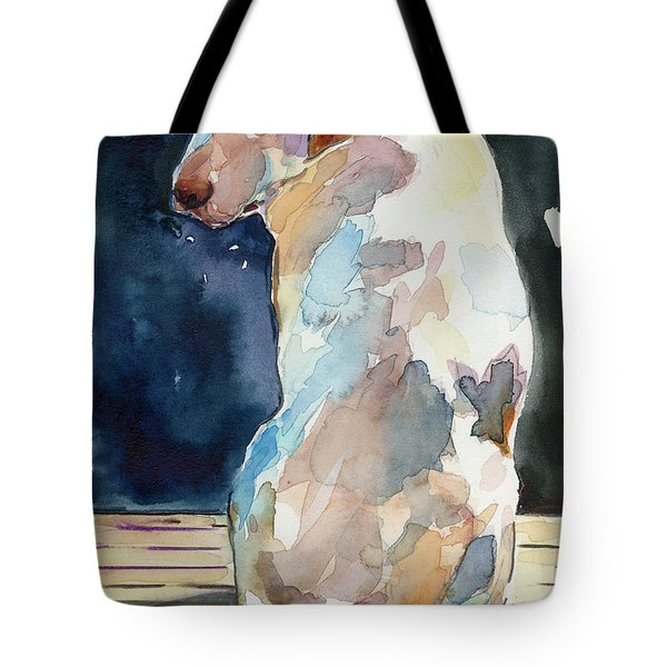 Lucy Moon Tote Bag by Molly Poole