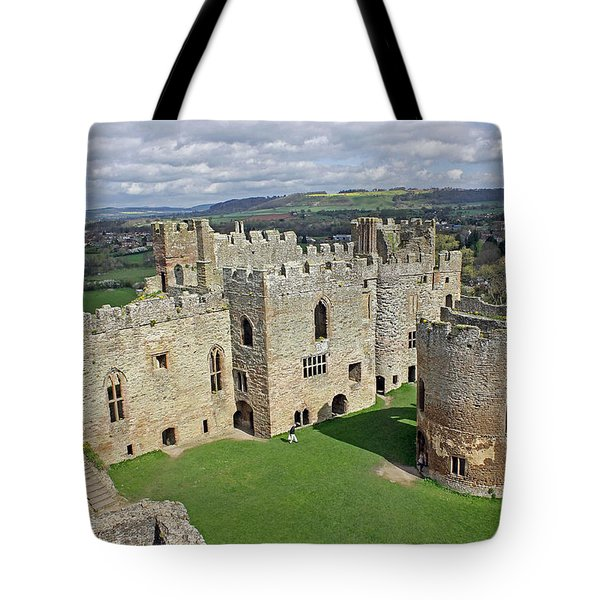 Ludlow Castle Chapel And Great Hall Tote Bag