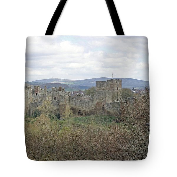 Ludlow Castle Tote Bag by Tony Murtagh