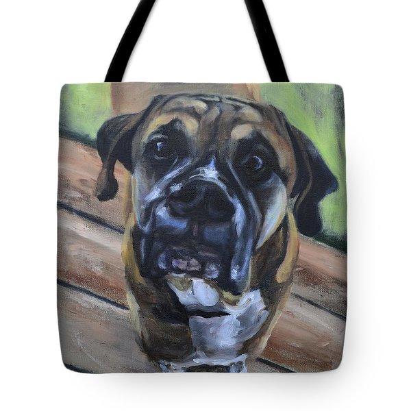 Lugnut Tote Bag by Donna Tuten